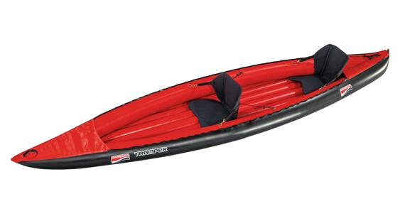 Grabner Tramper Boot rood/zwart